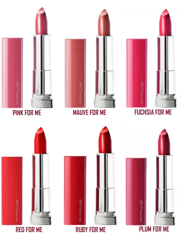 Maybelline Made For All lipsticks